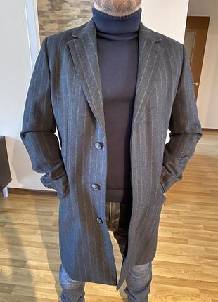 Мужское пальто hugo boss{original}