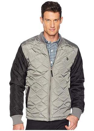 Куртка u.s. polo assn. contrast quilt bomber / оригинал