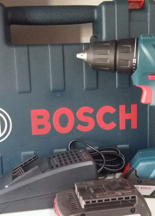 Дрель шуруповерт аккумуляторный Bosch GSR180-LI