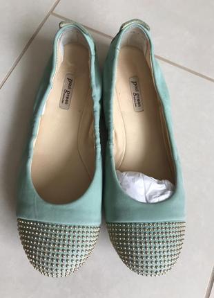 Туфли кожаные стильные модные дорогой бренд paul green размер ...
