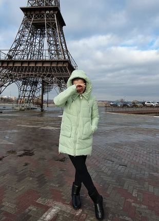 Куртка зимняя теплая после химчистки