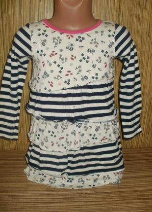 Платье ewians cleset трикотажное на 2-3 года