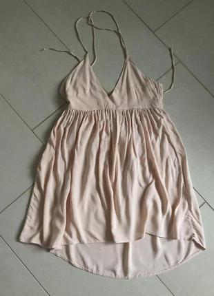 Туника стильная модная нежная и легкая asos размер м или 48