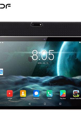 Планшет на Android 10,1, четыре ядра, экран 9,0 дюйма, 2 Гб + 32