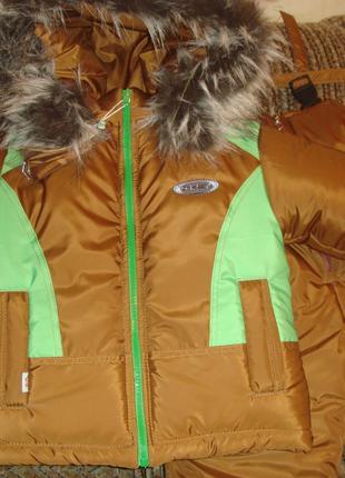 Распродажа!!! Зимний костюм на рост 80\86 см