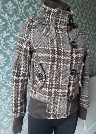 Куртка шерстяная шинель