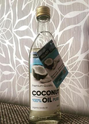 Рафинированное кокосовое масло hillary premium quality coconut...