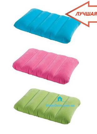 Надувная подушка Intex 68676 43х28х9