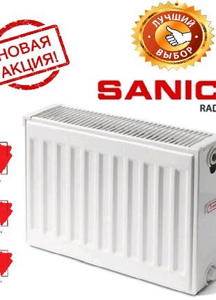 Стальной радиатор Sanica тип 22. 500*1000. Турция. Стенка 1.25.