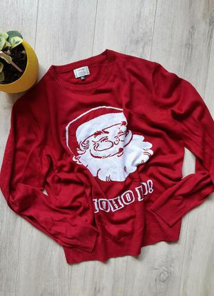 George свитер новогодний мужской красный одежда мужская