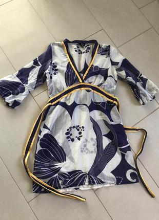 Туника батистовая нежная стильная модная дорогой бренд dept ра...