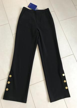 Штаны брюки стильные модные дорогой бренд résumé размер 36 или...