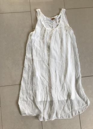 Платье шёлковое стильное модное дорогой бренд bella ragazza ра...