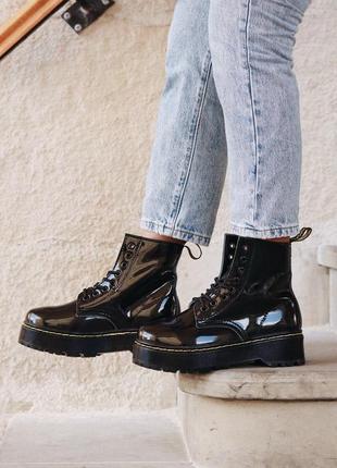 Распродажа!  женские зимние кожаные ботинки/ сапоги dr martens...