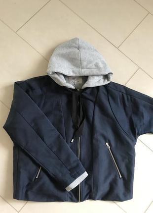 Куртка бомбер демисезонная стильная zara размер l