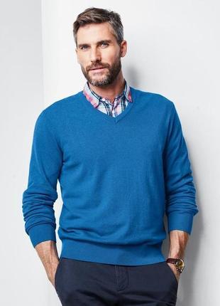 Элегантный мужской джемпер, свитер от tcm tchibo, германия, р-...