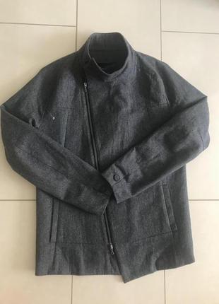 Куртка тренч шерстяной демисезонный мужской indice studio разм...
