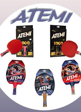 Ракетки ATEMI для настольного тенниса