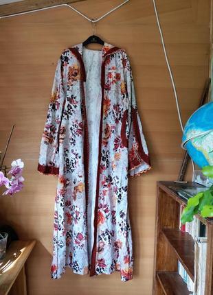 Марокканский кафтан накидка / кардиган / кимоно