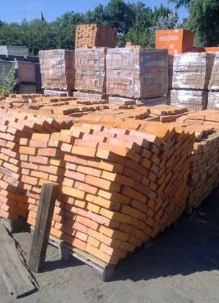 Продаем рядовой полнотелый кирпич по оптовым ценам в Киеве