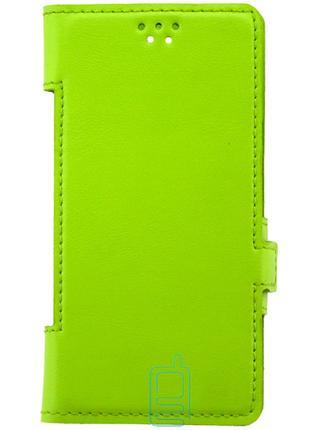 Универсальный чехол-книжка 5.3-5.5″ Bring Joy lime