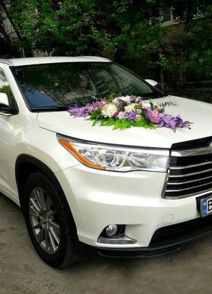 Оформление и прокат автомобиля на свадьбу в г. Сумы.  ЭленДекор.