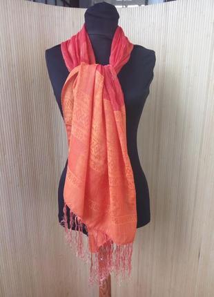 Шелковый шарф палантин Египет