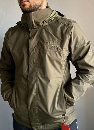 Ветровка resolve jacket new taupe dryvent ➕the northface оригинал