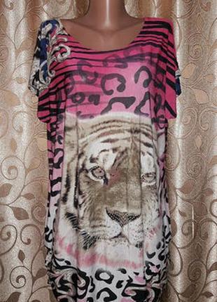 🌺🎀🌺красивая женская футболка, блузка батального размера🔥🔥🔥