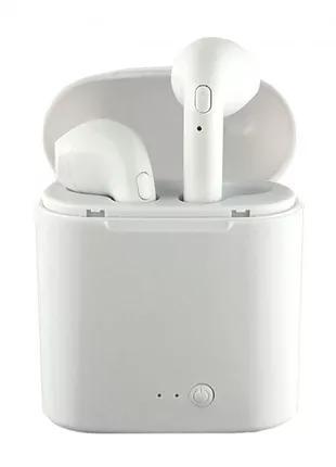 Беспроводные наушники Apple Airpods (I7TWS) c кейсом