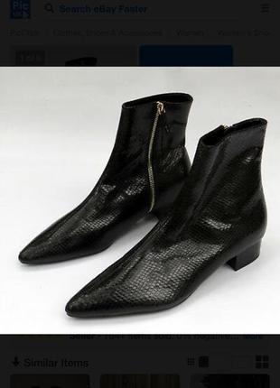 Стильные сапожки ботинки  zara