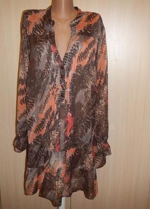Блуза большого размера sheego р.62