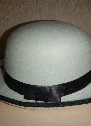 Шляпа котелок impulse р.57см
