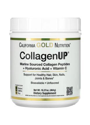 Морской Коллаген, CollagenUP, California Gold Nutrition, 464 г