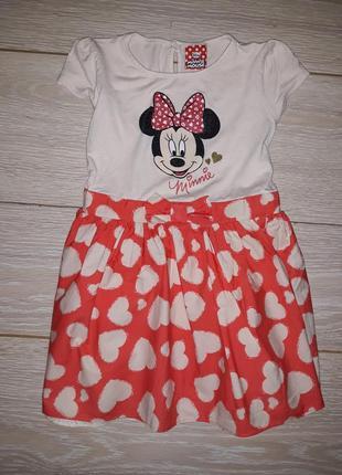 Платье disney на 2-3 года