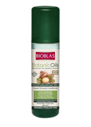 Кондиціонер-спрей для волосся з аргановою олією BIOBLAS, 200 мл