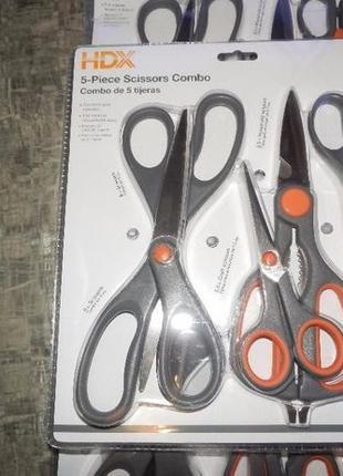 Продам комплект 5 американских ножниц HDX 5 Piece Scissors Set