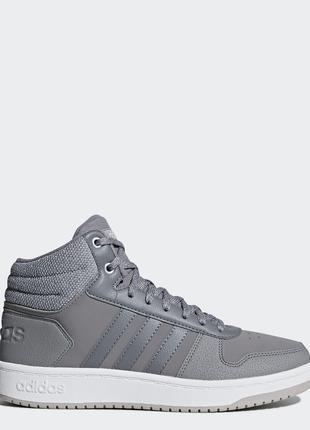 Женские кроссовки Adidas Hoops 2.0 Mid (B42106)