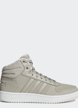 Женские кроссовки Adidas Hoops 2.0 Mid (B42107)