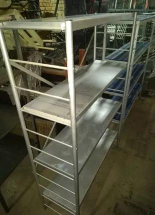 Стеллаж, алюминиевый, разный размер