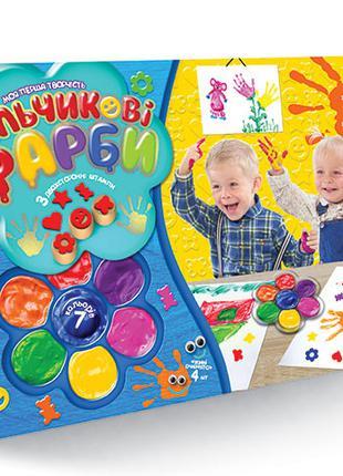 Детские пальчиковые краски Моя перша творчість 6819DT, 7 цвето...