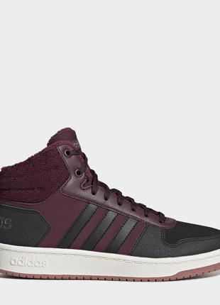 Женские кроссовки Adidas Hoops 2.0 Mid (EE7877)