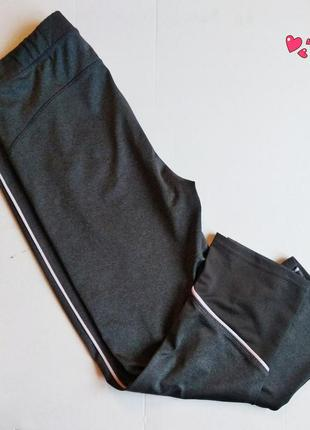 Лосины kiabi,капри для спорта с высокой посадкой, одежда для ф...