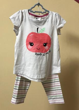 Комплект костюм літній піжама