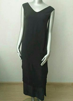 Платье цвета мокрого асфальта