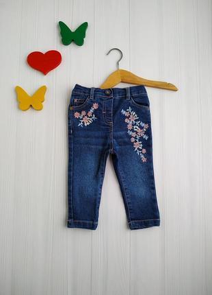 9-12 мес, джинсы для девочки,matalan