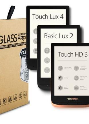 Защитное стекло для электронных книг PocketBook 6дюймов