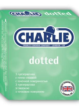 Презервативы CHARLIE Dotted  3 шт