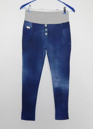 Джеггинсы - джинсы на трикотажной резинке тонкие