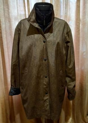 Шикарнейшая куртка clarina collection размер 18-20-22